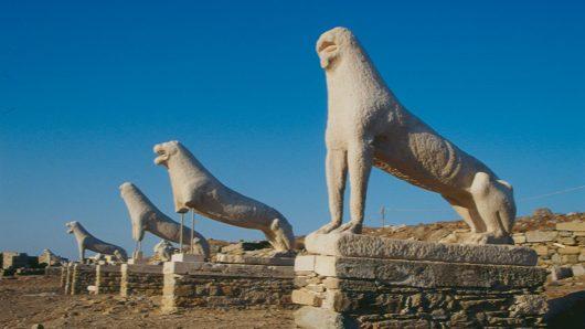 Η κλιματική αλλαγή εξαφανίζει τις αρχαιότητες της Δήλου