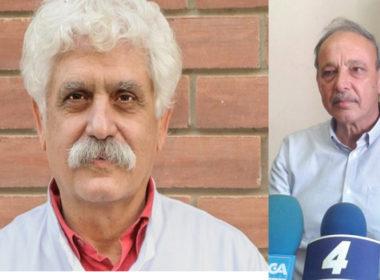 Ο νέος διοικητής της 2ης ΥΠΕ κ. Καρβούνης (αριστερά) και ο κ. Πλάτσης