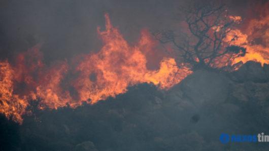 φωτιά υψηλός κίνδυνος εκδήλωσης πυρκαγιάς