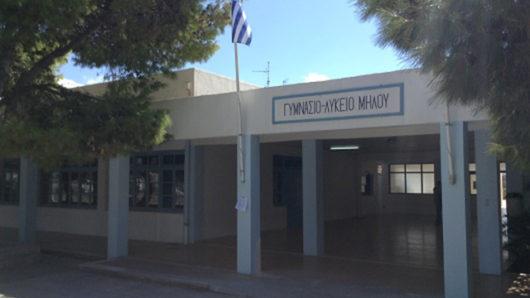 gymnasio lykeio miloy