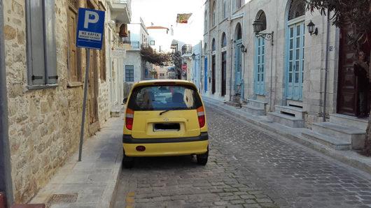 karta parking syros