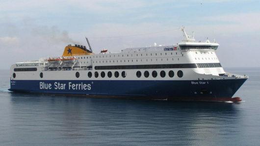 Blue Star 1: Ναύλωση στην Ιρλανδέζικη Irish Ferries;