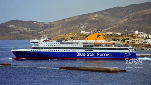 blue star limani tinos