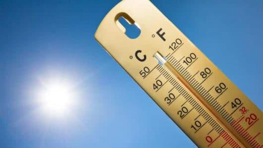 καύσωνας, υψηλές θερμοκρασίες