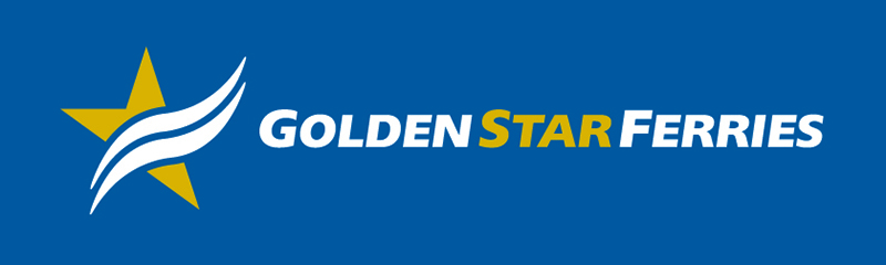golden star ferries logo