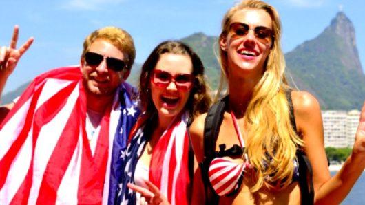 amerikanoi touristes
