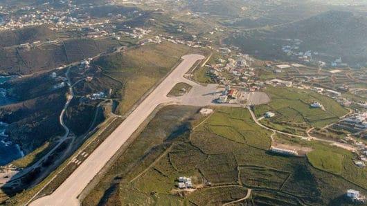 aerofotografia aerodromio syros