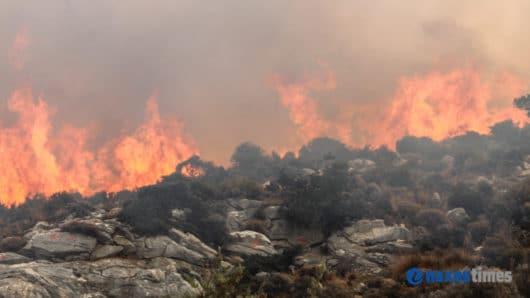 Έκτακτη συνεδρίαση στην Περιφέρεια για την αποτροπή και την αντιμετώπιση των πυρκαγιών