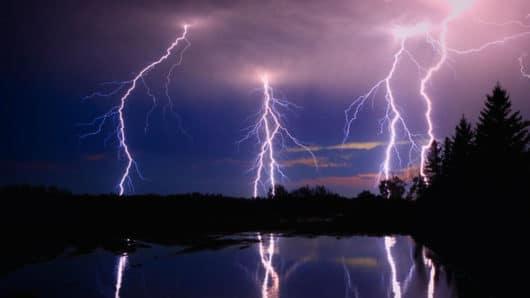 βροχές καταιγίδες