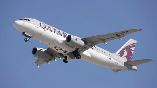 qatar airways airbus 320 2