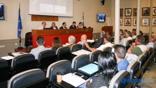 Τελευταία συνεδρίαση περιφερειακού συμβουλίου Ν. Αιγαίου