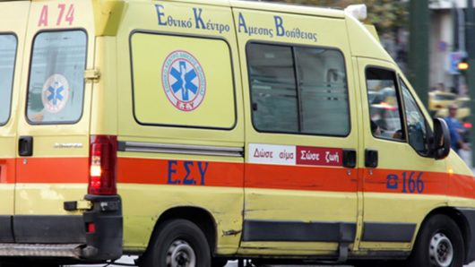 Θανατηφόρο τροχαίο στη Σαντορίνη – Νεκρός 74χρονος κατά τη μεταφορά του στο νοσοκομείο