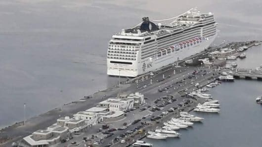 Μύκονος: Δημοπρατείται η αντικατάσταση των προσκρουστήρων στο νέο λιμάνι