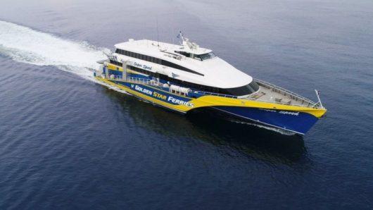 Μηχανική βλάβη στο ταχύπλοο superspeed στο λιμάνι της Νάξου