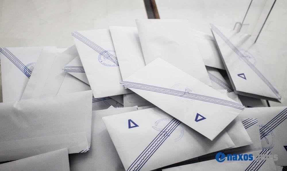 ψηφοδέλτιο είχε μέσα 50 ευρώ