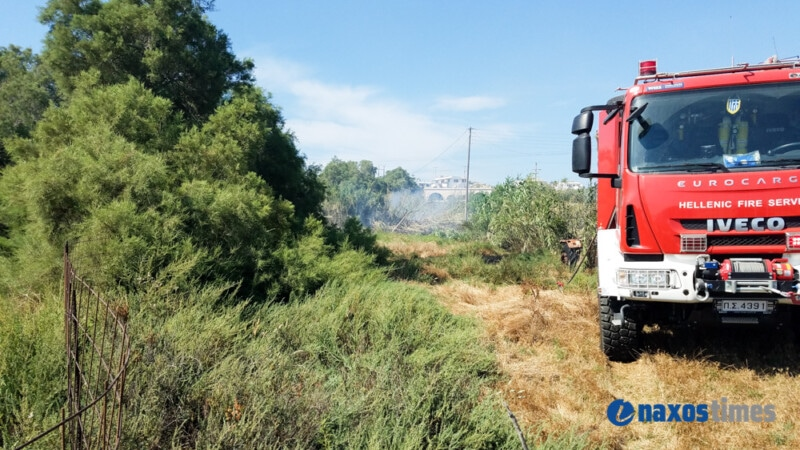 Φωτιά στην περιοχή Κάπαρες