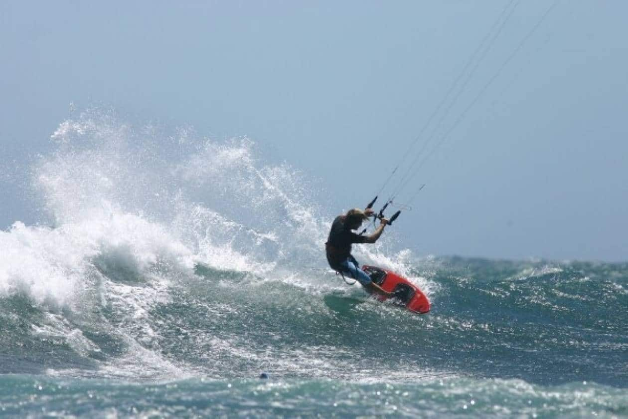 kitesurf μέγιστες ριπές ανέμου