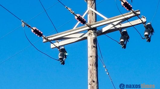 Διακοπή ρεύματος σε περιοχές της Νάξου, Σχοινούσα και Ηρακλειά