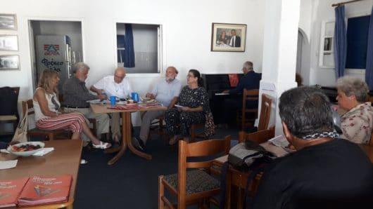 Πολιτική εκδήλωση του ΣΥΡΙΖΑ στη Μύκονο