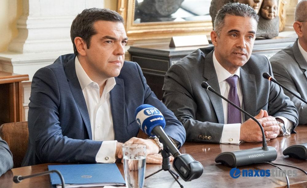 Aπό τη Σύρο θα ξεκινήσει τις προεκλογικές περιοδείες του ο Αλέξης Τσίπρας