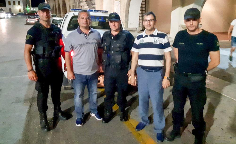 επισκέψεις Ένωσης Αξιωματικών Αστυνομίας