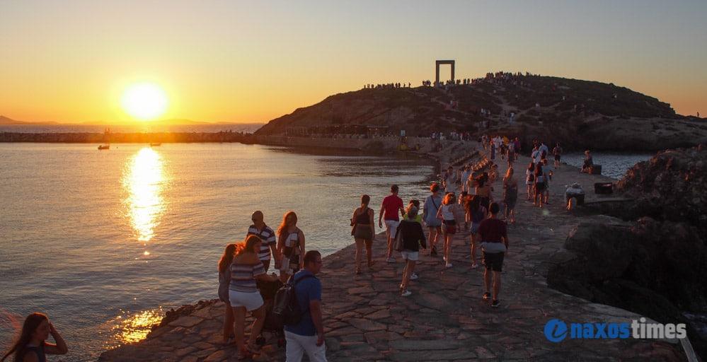 ηλιοβασίλεμα στην Πορτάρα - Τουριστική επιτροπή