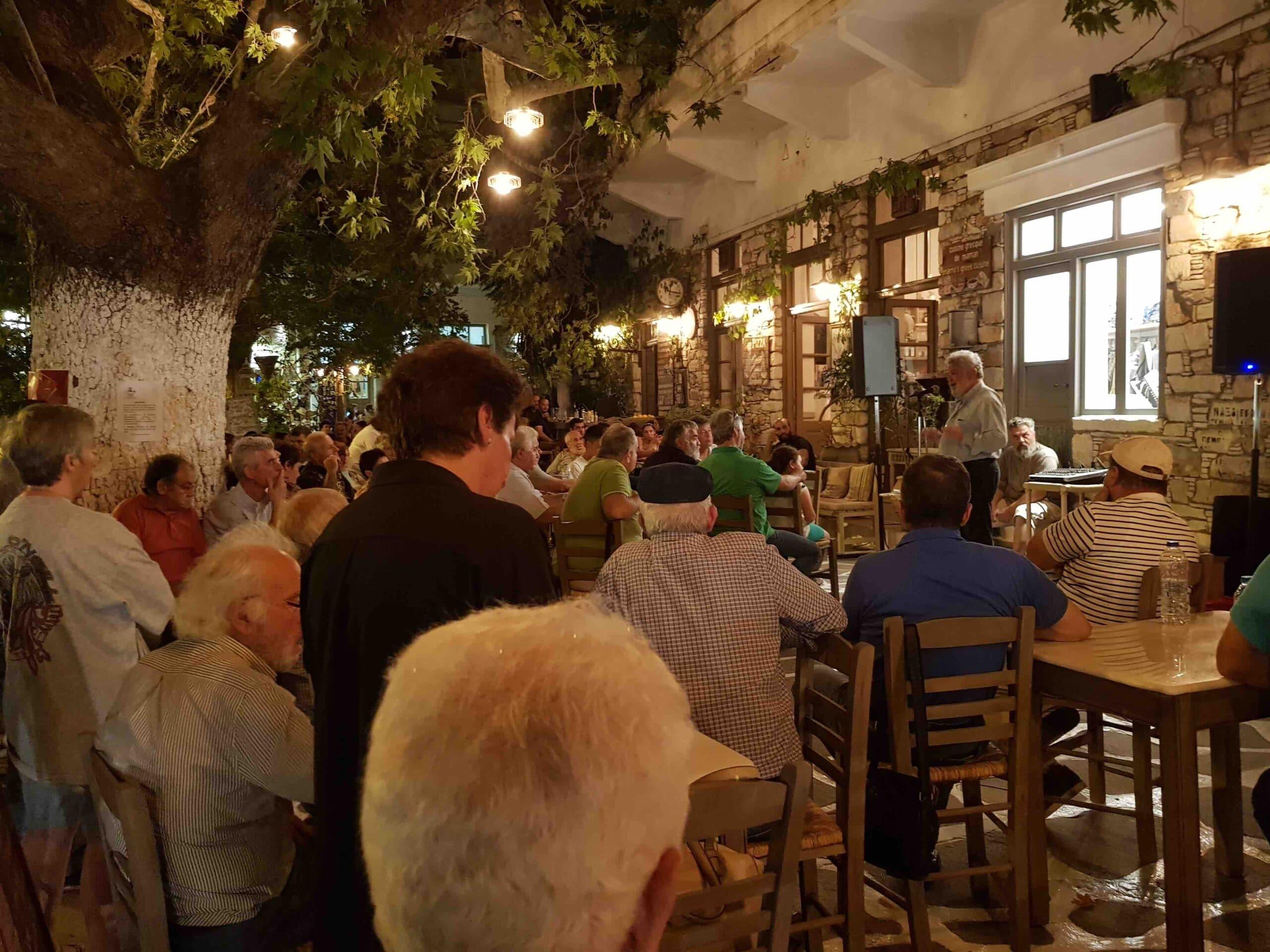 ομιλία του Νίκου Μανιού στο Φιλώτι