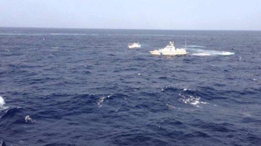 Ακυβερνησία σκάφους στη Νάξο