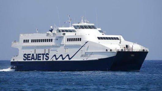 """Η SEAJETS ανακοινώνει τα δρομολόγια του """"ANDROS JET"""" στη Σαμοθράκη"""