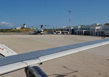 αεροπορικές συνδέσεις αεροδρόμιο Μυκόνου