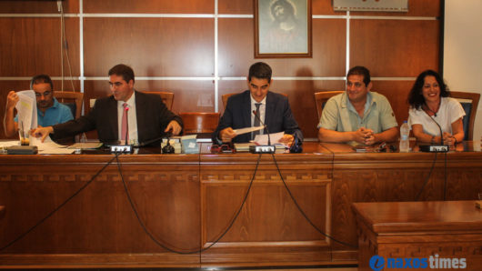 Ενδιαφέροντα θέματα στη συνεδρίαση του δημοτικού συμβουλίου Νάξου και Μικρών Κυκλάδων