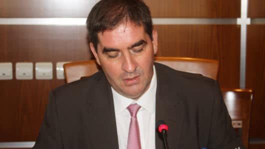 Φώτης Μαυρομάτης, συνεδρίαση δημοτικού συμβουλίου Νάξου και Μικρών Κυκλάδων