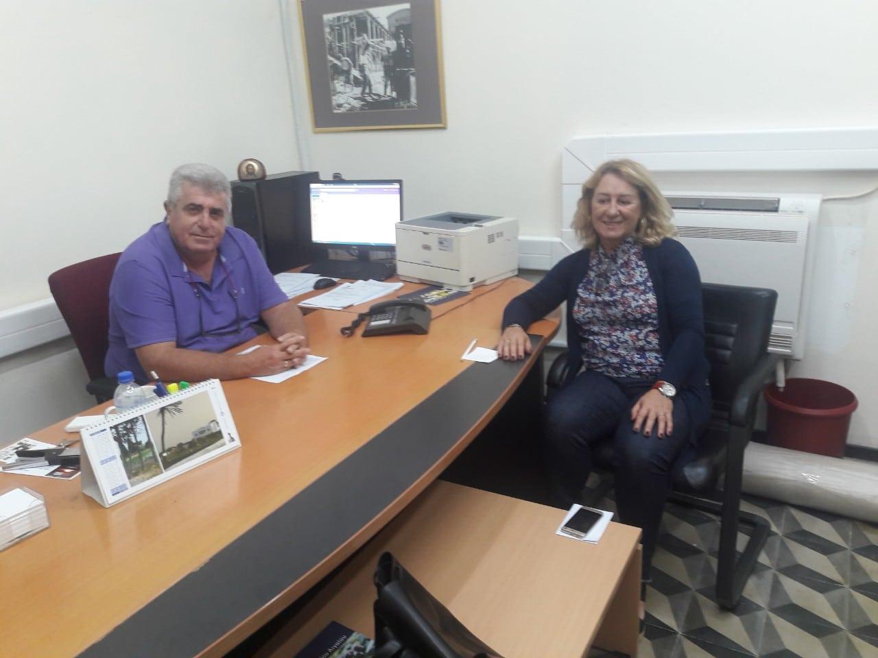 Συνάντηση του Φιλήμονα Ζαννετίδη με την διεύθυνση του ΟΠΕΚΕΠΕ