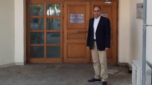 Επίσκεψη Μπιζά στο ΚΔΑΠ-ΜΕΑ Δήμου Σύρου – Ερμούπολης