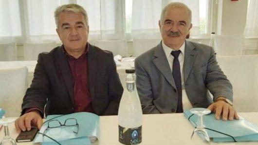 Συνάντηση των αντιπεριφερειαρχών Μ. Δαδάου και Γ. Θεμέλαρου για θέματα μεταφορών και συγκοινωνιών του Ν. Αιγαίου