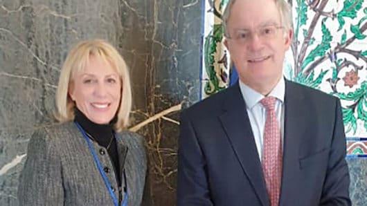 Συνάντηση Αλίκης Λεονταρίτη με τον Πρόεδρο της Βουλής για μελλοντικές πολιτιστικές δράσεις