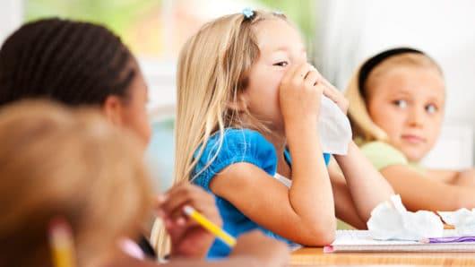 Οδηγίες από το υπουργείο Υγείας για τη γρίπη στα σχολεία