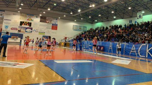 Κύπελλο γυναικών: Στην τετράδα ο Α.Ο. Θήρας, κέρδισε 3-2 τον Πανναξιακό