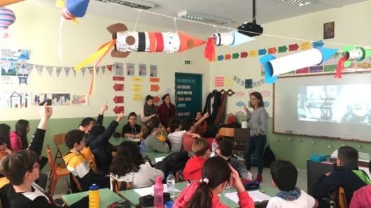 Εκπαιδευτικό πρόγραμμα σε σχολεία της Πάρου από τις Διαδρομές στη Μάρπησσα και τη Δ/νση Νεότερης Πολιτιστικής Κληρονομιάς