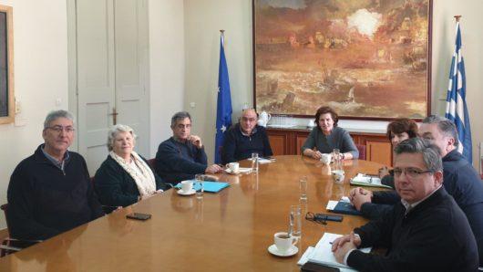 Συνεδρίαση της Επιτροπής Πολιτιστικών της Γενικής Γραμματείας Αιγαίου και Νησιωτικής Πολιτικής