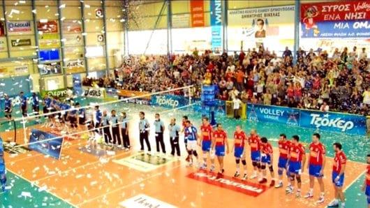 Στη Σύρο το Final Four του κυπέλου Ανδρών Volley