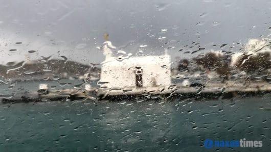 Καιρός: Κακοκαιρία στις Κυκλάδες με βροχές και καταιγίδες