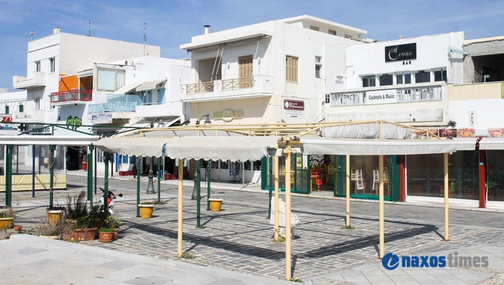 καταστήματα εστίασης, μαγαζιά παραλία Νάξου