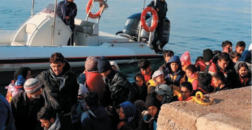 απόβαση 193 µεταναστών στην Κέα