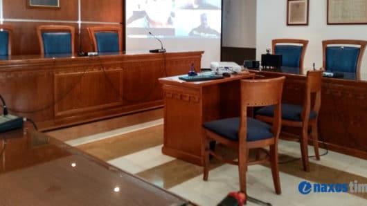 Συνεδρίαση του δημοτικού συμβουλίου Νάξου και Μικρών Κυκλάδων