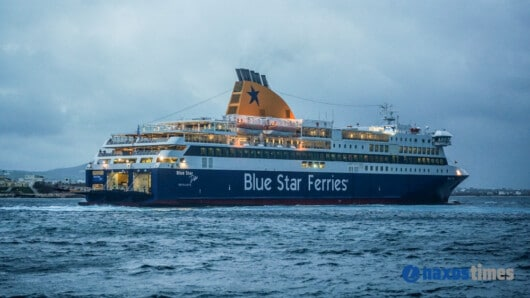 Blue Star Delos στο λιμάνι της Νάξου