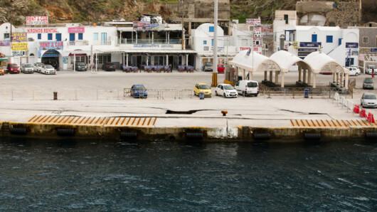 λιμάνι - Σαντορίνη