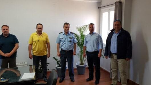 Επίσκεψη συνδικαλιστών στον Γενικό Περιφερειακό Αστυνομικό Διευθυντή Ν. Αιγαίου