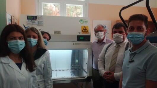 Δωρεά εξοπλισμού στο Γ.Ν. Σύρου για την νόσο SARS/COV-2