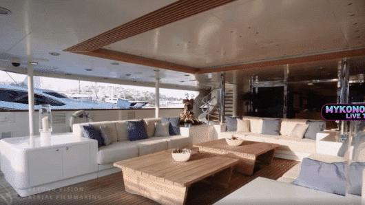 Χλιδή που καθηλώνει… Στη Μύκονο η υπερπολυτελής θαλαμηγός O'MEGA – Νοικιάζεται 550.000 ευρώ την εβδομάδα! (video)